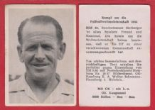 West Germany 1954 World Cup Herberger 33